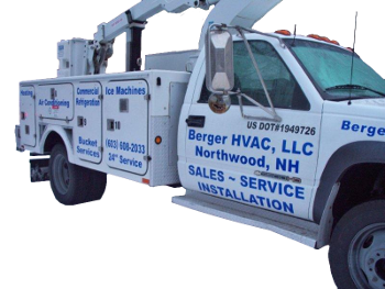 Berger HVAC Bucket Truck